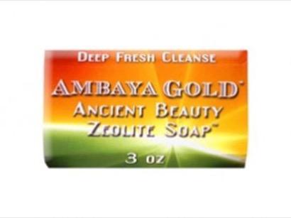 Ambaya gold ancient beauty orme zeolite soap gone green