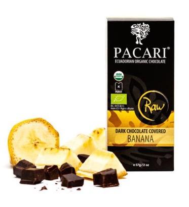 Pacari Chocolate Covered Dried Bananas