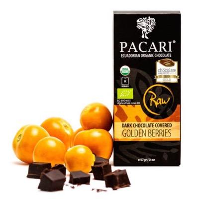 Pacari Chocolate Covered Golden Berries