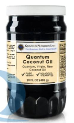 Quantum Nutrition Labs Coconut Oil (Coco-Gold)