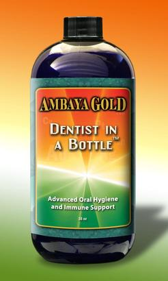 Ambaya Gold Dentist In a Bottle