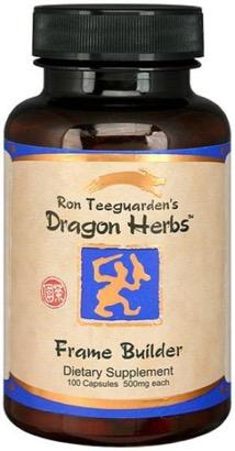 Dragon Herbs Frame Builder Caps