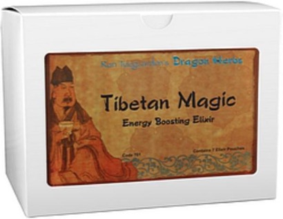 Dragon Herbs Tibetan Treasure in Pouch