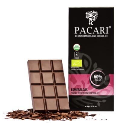 Pacari Esmeraldas Chocolate Bar