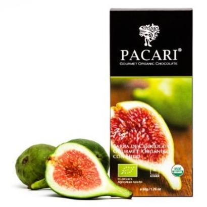 Pacari Fig Chocolate Bar