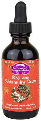 Dragon Herbs Goji & Schizandra Drops