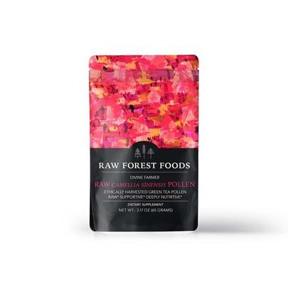Raw Forest Foods Green Tea Flower Pollen