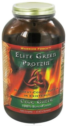 Healthforce Nutritionals Elite Green Protein Cool Green
