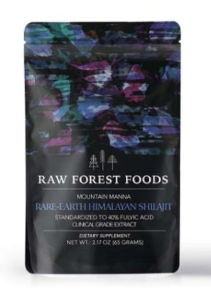 Raw Forest Foods Himalayan Shilajit Powder