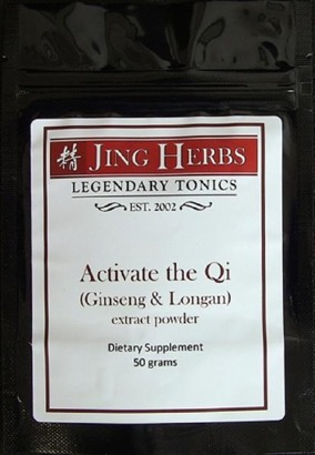 Jing Herbs Activate the Qi Powder