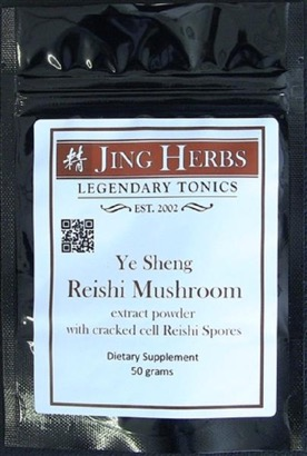 Jing Herbs Reishi Extract Powder with Spores