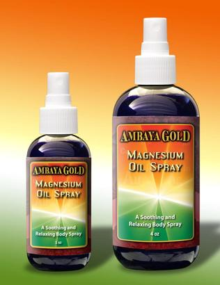 Ambaya Gold Magnesium Oil Spray