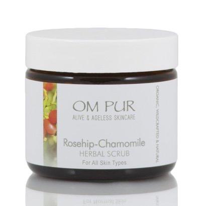 Om Pur Rosehip Chamomile Herbal Scrub