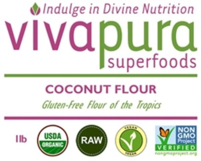 Vivapura Organic Gluten Free Coconut Flour