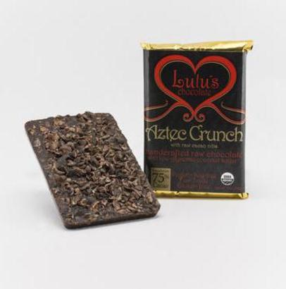 Lulu's Organic Raw Chocolate Aztec Crunch