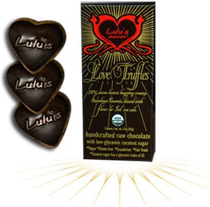 Lulu's Organic Raw Chocolate Love Truffles