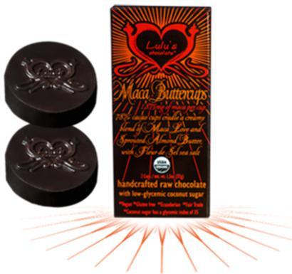 Lulu's Organic Raw Chocolate Maca Buttercups