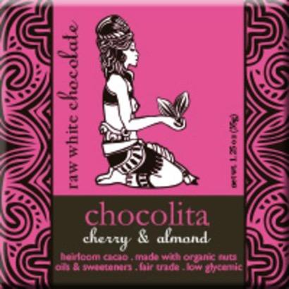 Chocolita Organic Raw White Cherry Almond