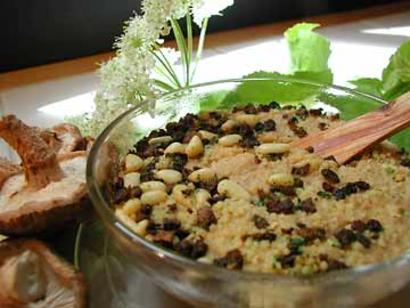MaryJanesFarm Organic Wild Forest Mushroom Couscous (3 lb Mylar Bag)