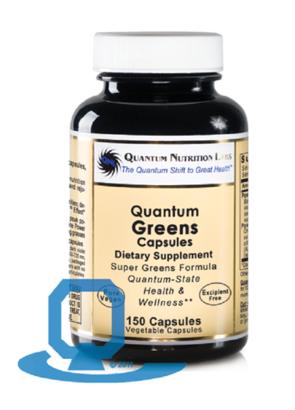 Quantum Nutrition Labs Greens - 150 Caps