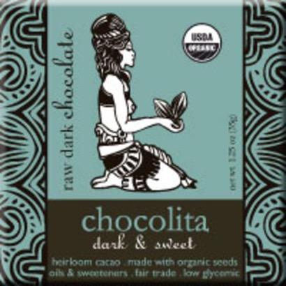 Chocolita Raw Dark Chocolate Dark & Sweet
