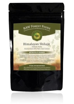 Raw Forest Foods Himalayan Shilajit