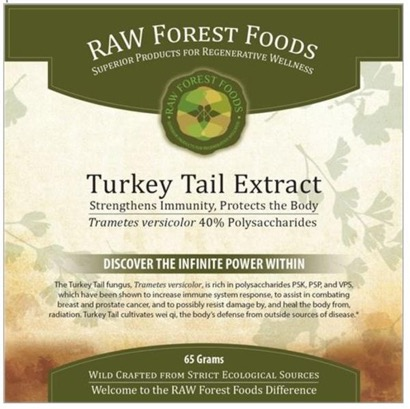Raw Forest Foods Turkey Tail Extract