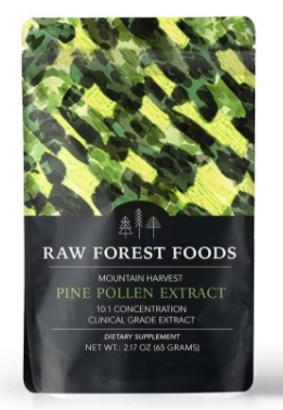 Raw Forest Foods Raw Pine Pollen Extract Powder