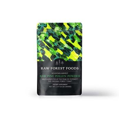 Raw Forest Foods Raw Pine Pollen Powder