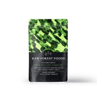 Raw Forest Foods Raw Pine Pollen Tablets