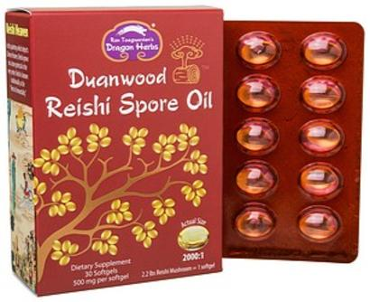 Dragon Herbs Reishi Spore Oil 30 Softgels