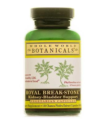 Whole World Botanicals Royal Break Stone Support Capsules