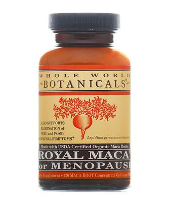 Whole World Botanicals Royal Maca for Menopause 120 Caps