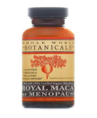 Whole World Botanicals Royal Maca for Menopause 120 Caps