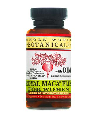 Whole World Botanicals Royal Maca Plus for Women