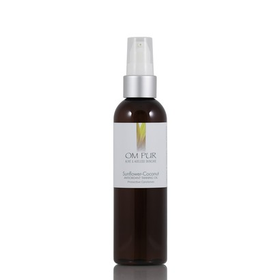 Om Pur Sunflower-Coconut Tanning Oil
