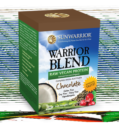 Sunwarrior Warrior Blend - Chocolate