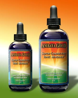 Ambaya Gold Super Conductive Ionic Minerals