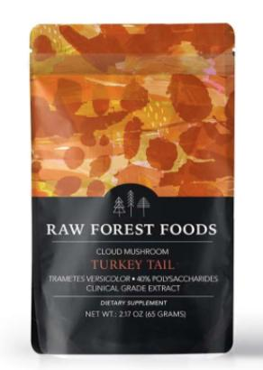 Raw Forest Foods Turkey Tail Extract Powder