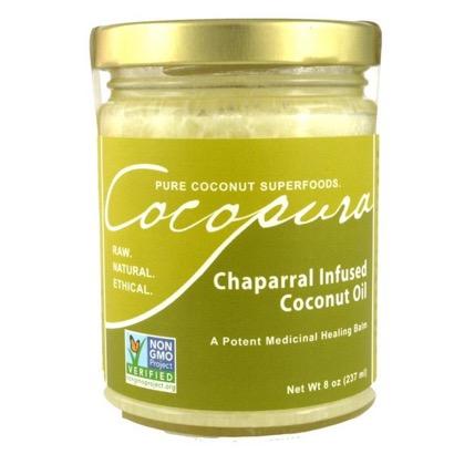 Vivapura Chaparral Infused Coconut Oil