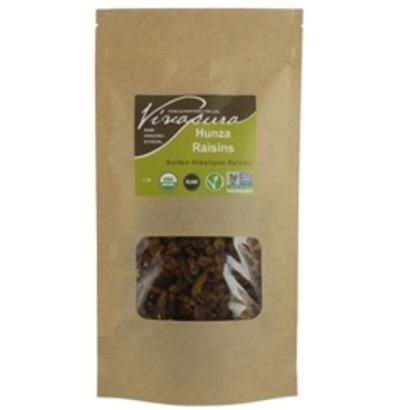 Vivapura Raw Organic Hunza Raisins - 16 oz