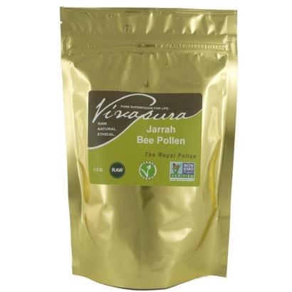 Vivapura Raw Organic Jarrah Bee Pollen 4 oz.