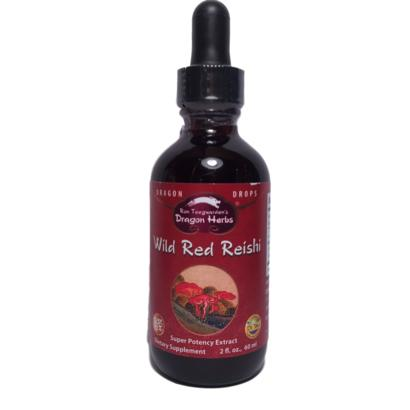 Dragon Herbs Wild Red Reishi Drops